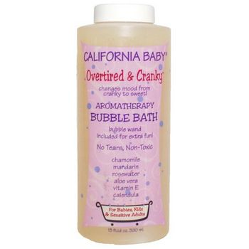California Baby - Bubble Bath - Overtired & Cranky - 12 oz
