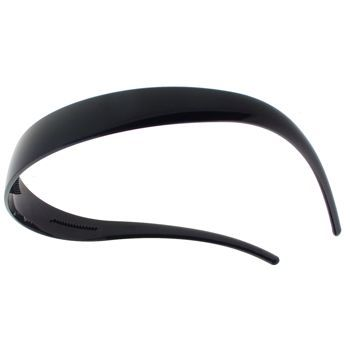 Camila - Comfort Fit Headband - Black