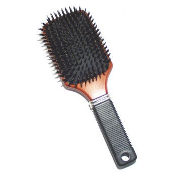 Conair Accessories - Performers - 100% Boars Bristle Cushion Base Paddle Brush
