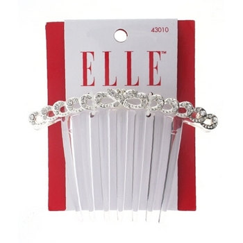 Elle & Elle Girl - Butterfly Updo Comb w/Crystals