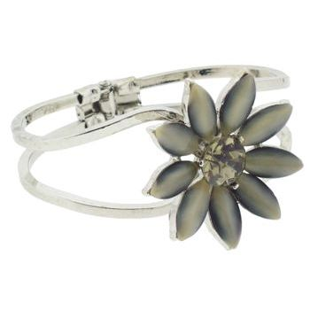 Alex and Ani - Vintage Daisy Cuff - Smoke