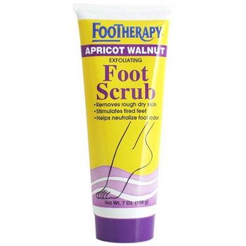 Queen Helene - Footherapy Apricot Walnut Foot Scrub - 7 oz