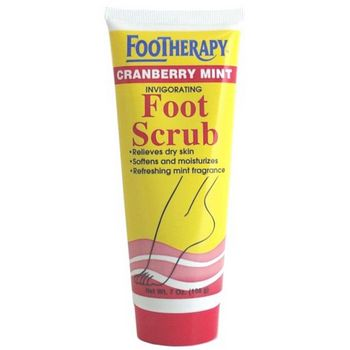 Queen Helene - Footherapy Cranberry Mint Foot Scrub - 7 oz