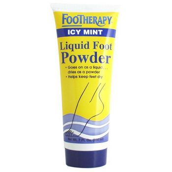 Queen Helene - Footherapy Icy Mint Liquid Foot Powder - 7 oz