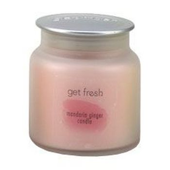get fresh - Candle - Mandarin Ginger - 10 oz.