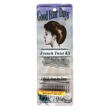 Good Hair Days - French Twist Kit - Crystal Colored