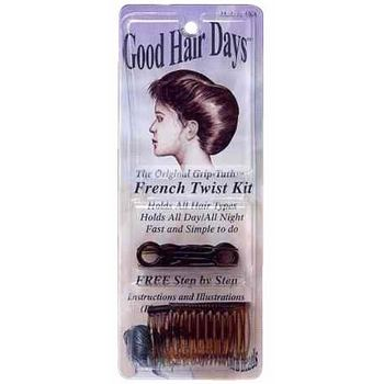 Good Hair Days - French Twist Kit - Tortoise Colored