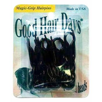 Good Hair Days - Magic Grip Hairpins - 10 Black