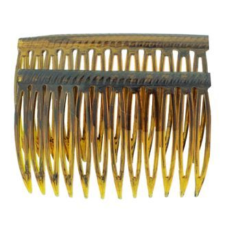 Good Hair Days - Grip-Tuth - 2 3/4inch Shell Colored Sidecombs