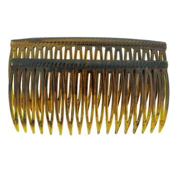 Good Hair Days - Grip-Tuth - 3 1/4inch Shell Sidecombs (2)