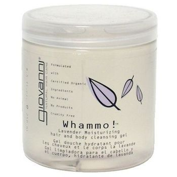 HairBoutique Beauty Baragains - Giovanni - Whammo! - Hair & Body Gel & Loofah - Lavender - 8.5 oz