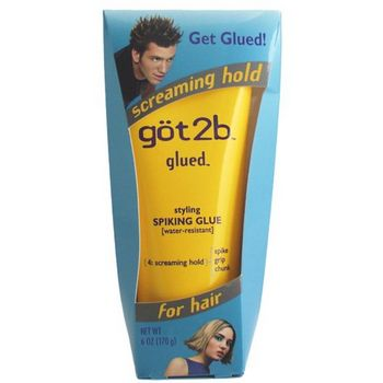 got2b - Glued - Styling Spiking Glue - 6 oz (Water Resistent)
