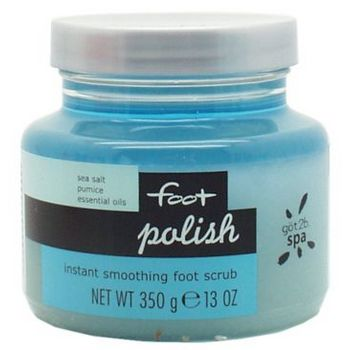 got2b - Spa Foot -  Polish - Instant Smoothing Foot Scrub - 13 oz (359g)
