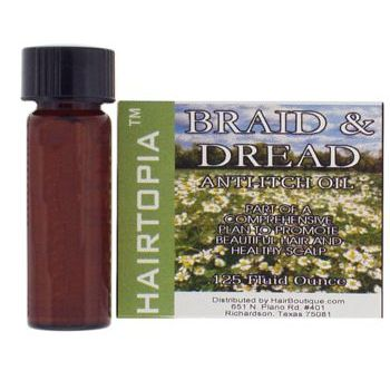 HAIRTOPIA  Braid & Dread Anti-Itch Oil - Travel Size .125 fl. oz.