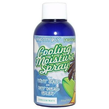 Knotty Boy - Peppermint Cooling Moisture Spray - 4 oz Concentrate