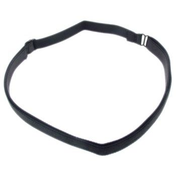 HB HairJewels - Lucy Collection - Bra Strap Headband - Black (1)