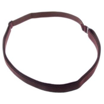HB HairJewels - Lucy Collection - Bra Strap Headband - Chocolate Brown (1)