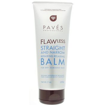 Paves Professional - FLAWless Straight and Narrow Repairing Relaxing Balm For Dry Damaged Hair - 7.0 oz