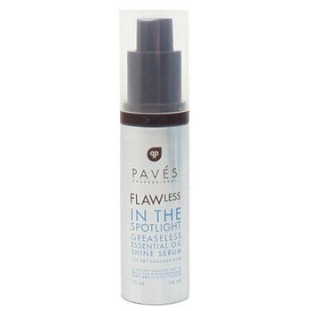 Paves Professional - FLAWless In The Spotlight Greaseless Essential Oil Shine Serum For Dry Damaged Hair - 1 fl oz