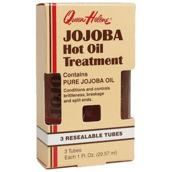 Queen Helene - Jojoba Hot Oil Treatment - 3 Resealable Tubes