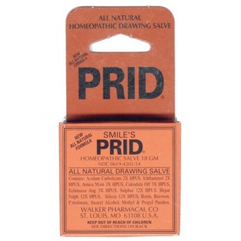 Smile's Prid Salve - All Natural Drawing Salve - 18 GM