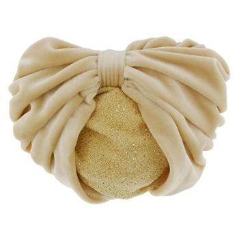 Karen Marie - Snood Collection - Large Velvet Snood with Glittered Lining - Camel