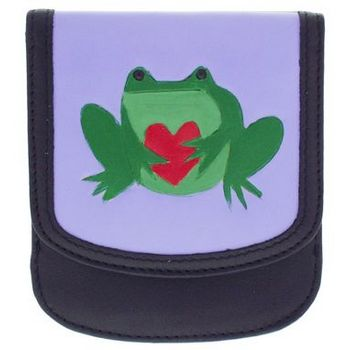 Taxi Wallets - Artist Series - Frog w/Heart